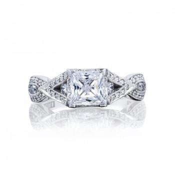 Tacori Ribbon Collection Ribbon Twisted Engagement Ring 2647PR55