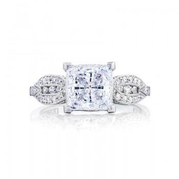Tacori Ribbon Collection Princess Cut Ring 2648PR7