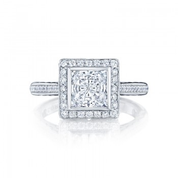 Tacori Starlit Collection Princess Cut Ring 306-25PR65
