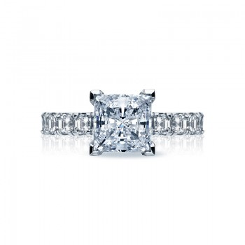 Tacori Clean Crescent Collection Princess Cut Ring 32-3PR75