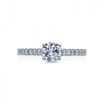 Tacori Clean Crescent Collection Round Cut Ring 36-2RD6