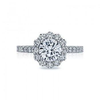 Tacori Full Bloom Collection French Cut Ring 37-2RD7