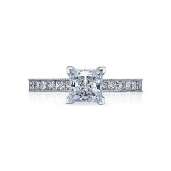 Tacori Sculpted Crescent Collection 2.5 Princess Cut Engagement Ring 45-25PR6
