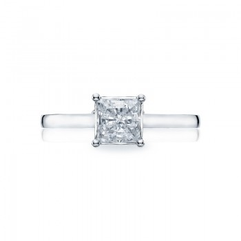 Tacori Sculpted Crescent Collection Solitaire Ring 48PR55