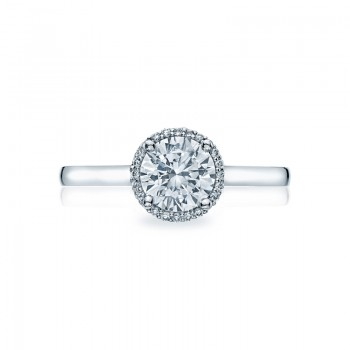 Tacori Sculpted Crescent Collection Solitaire Ring 49RD65