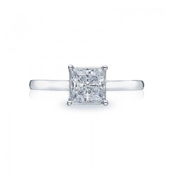 Tacori Sculpted Crescent Collection Solitaire Ring 50PR6