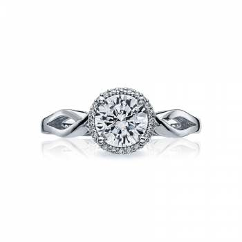 Tacori Sculpted Crescent Collection Solitaire Ring 52RD65