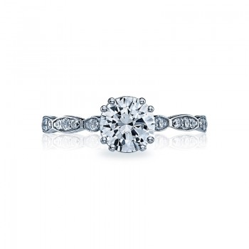 Tacori Sculpted Crescent Collection Solitaire Ring 57-2RD65