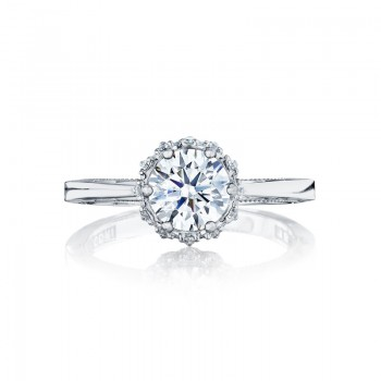 Tacori Sculpted Crescent Collection Engagement Ring 59-2RD65