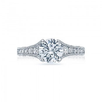 Tacori Reverse Crescent Collection Engagement Ring HT251012X