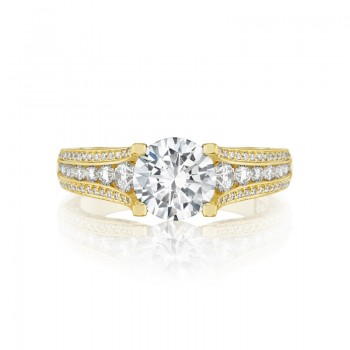 Tacori Tacori Gold Collection Yellow Gold Engagement Ring HT2513RD7512XY