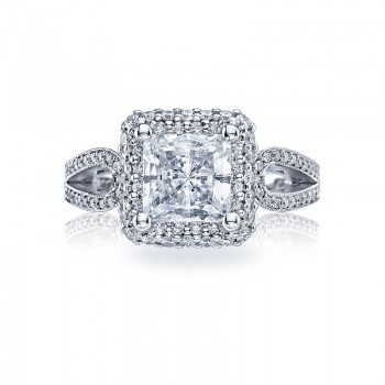 Tacori Blooming Beauties Collection Engagement Ring HT2518PR7