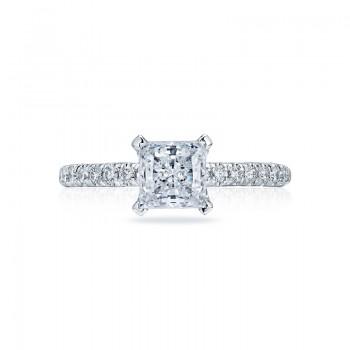 Tacori Petite Crescent Collection Princess Cut Ring HT2545PR6
