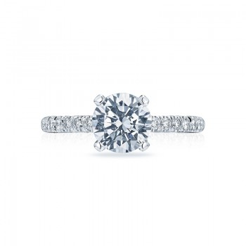 Tacori Petite Crescent Collection Engagement Ring HT2545RD75