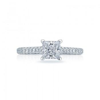 Tacori Petite Crescent Collection Princess Ring HT2546PR55