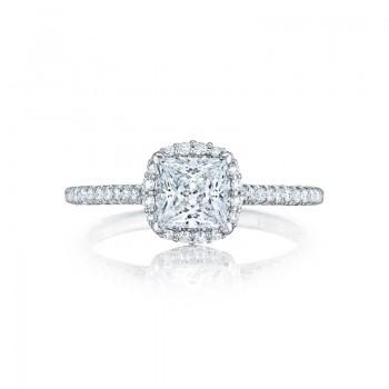 Tacori Petite Crescent Collection Princess Ring HT254715PR55