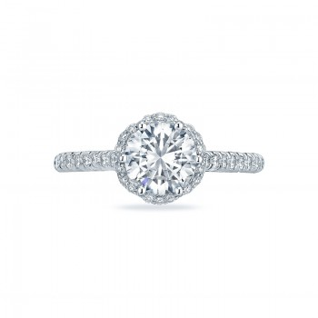 Tacori Petite Crescent Collection Heart Gallery Ring HT2547RD7