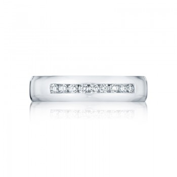 Tacori Sculpted Crescent Collection High Polished Gentlemen's Band 125-5D