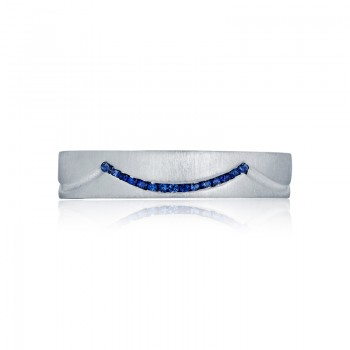 Tacori Classic Crescent Collection Royal Sapphire Band 97-5BSS