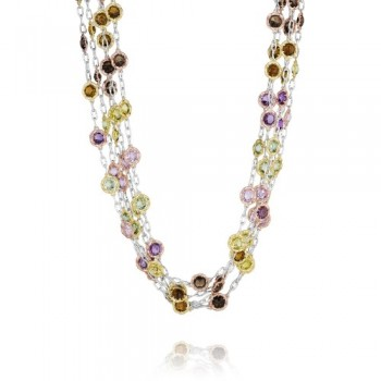 Tacori Tacori Vault Multi-Chain Candy Drop Necklace