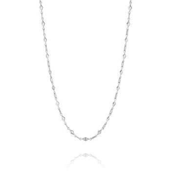 Tacori Classic Rock Diamond Link Chain Necklace