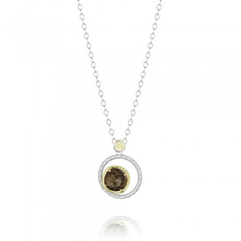 Tacori Midnight Sun Crescent Bloom Necklace