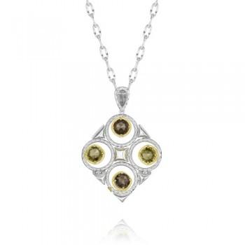 Tacori Midnight Sun Large Crescent Bloom Necklace