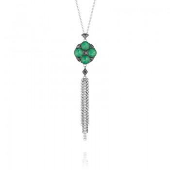 Tacori City Lights Gem Chain Pendant Necklace
