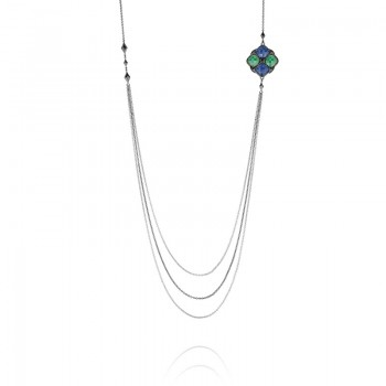 Tacori City Lights Delicate Layers Multi-Strand Necklace