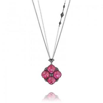 Tacori City Lights Bold Embellished Chain Pendant Necklace