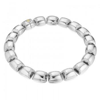 Tacori City Lights Silver Barrel Necklace