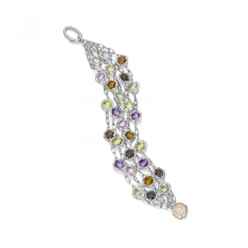 Tacori Color Medley Cascading Gem Bracelet