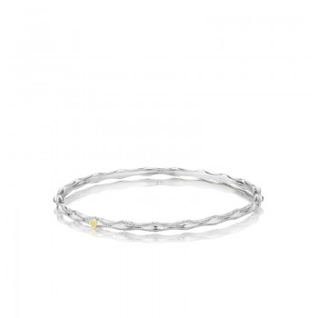 Tacori Classic Rock Simple Crescent Bangle