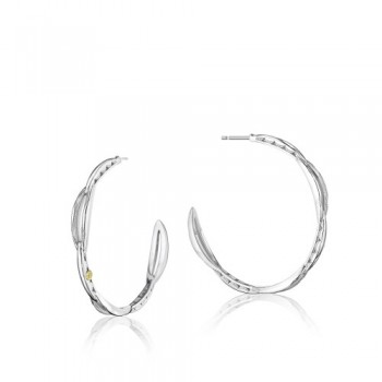 Tacori The Ivy Lane Crescent Curve Hoop Earring