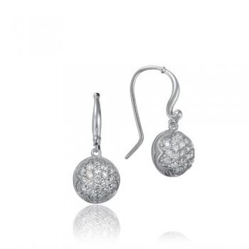 Tacori Sonoma Mist Silver Dew Drop Earring