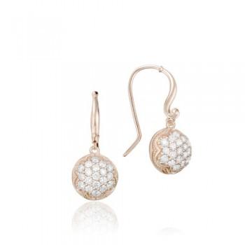 Tacori Sonoma Mist Pink Dew Drop Earring