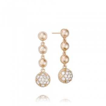 Tacori Sonoma Mist Pink Cascading Drops Earring