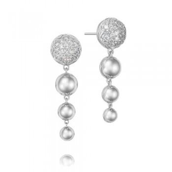 Tacori Sonoma Mist Silver Reverse Drop Earring