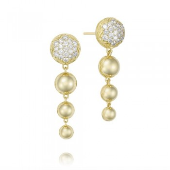 Tacori Sonoma Mist Gold Reverse Drop Earring