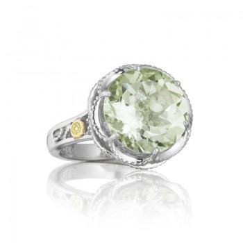 Tacori Seafoam Mint Silver Frame Ring