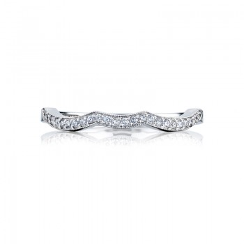 Tacori Ribbon Collection Wedding Band 2648LGB