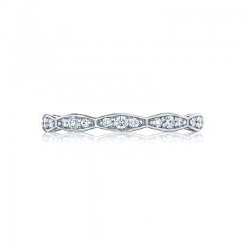 Tacori Sculpted Crescent Collection Eternity Band 46-2ET