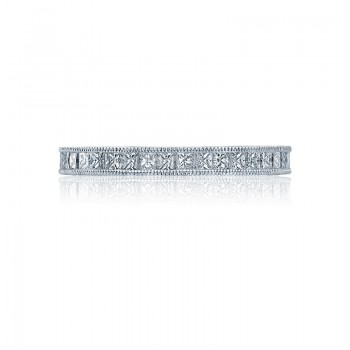 Tacori Reverse Crescent Collection Channel Set Princess Band HT2510PRB