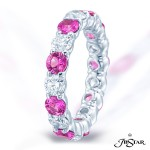 JB Star/Jewels By Star Precious Color Eternity Band