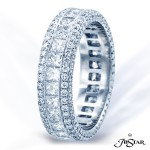 JB Star/Jewels By Star Multi-Row Eternity Band