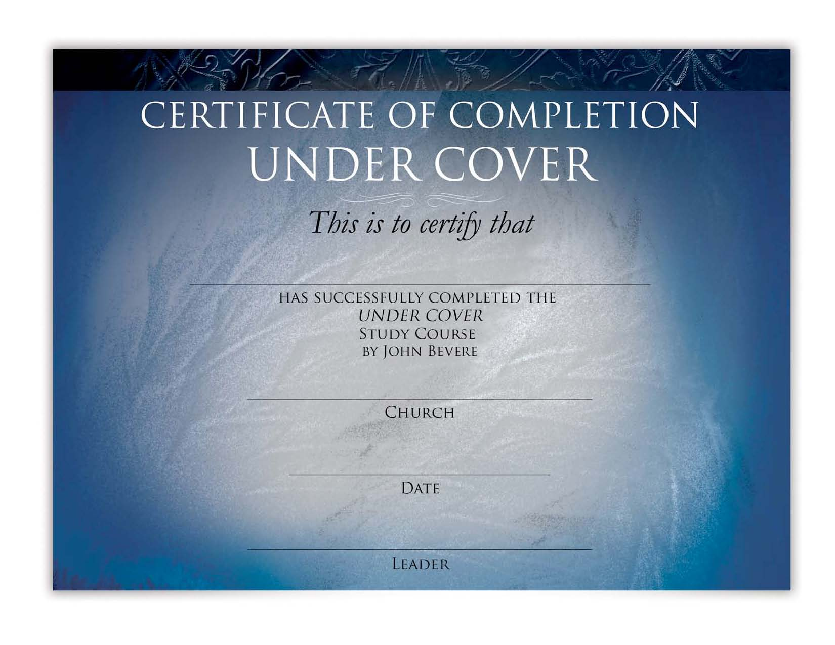 Under cover curriculum messenger international certificate of completion fandeluxe Gallery
