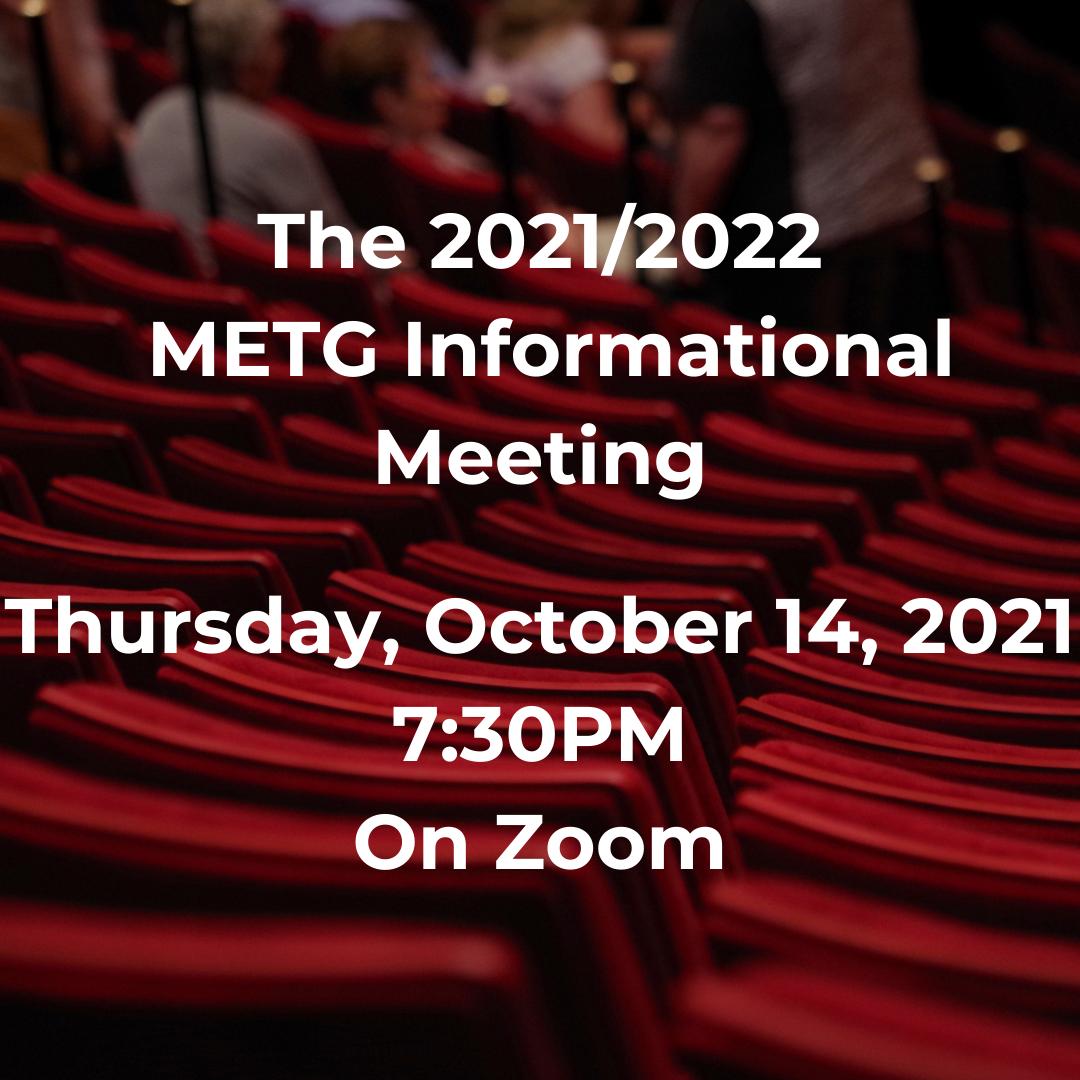 METG Informational Meeting