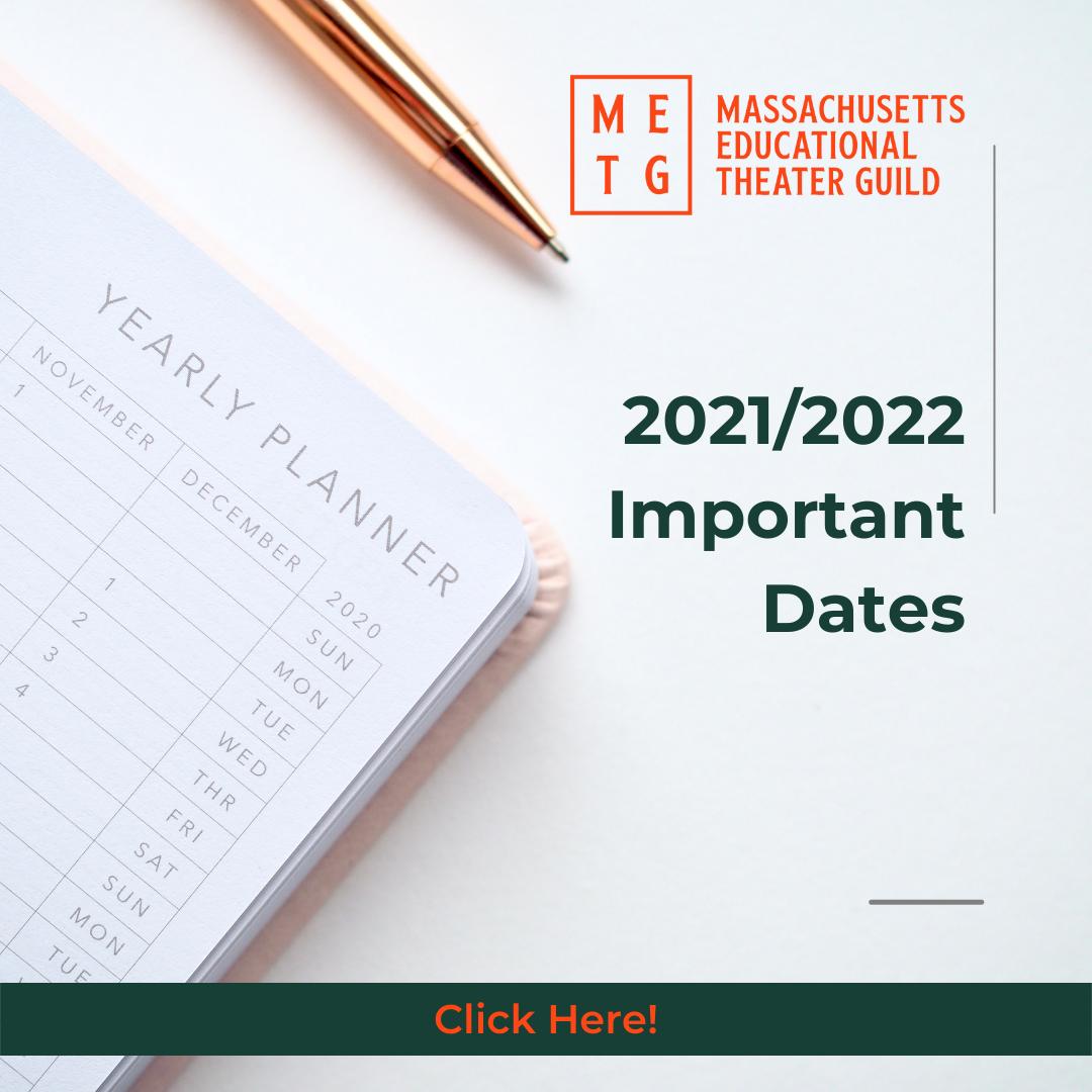 2021/2022 Dates