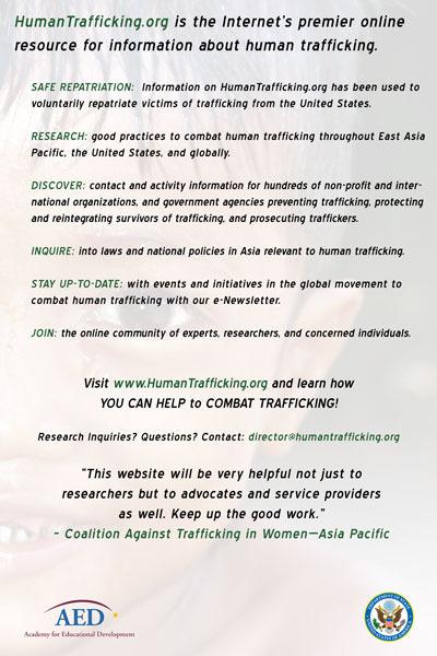 Human Traffickers Target Social Media Dating Sites
