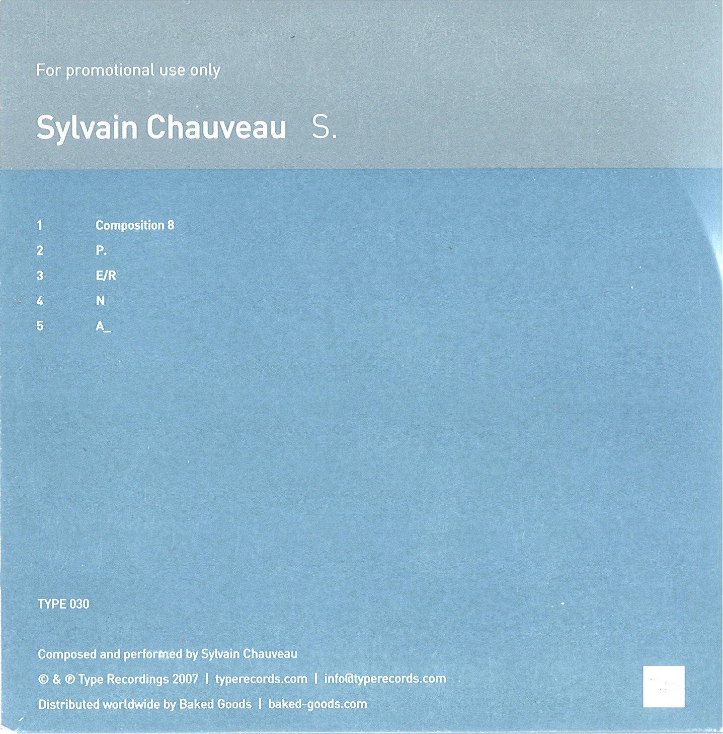 Sylvain Chauveau - S